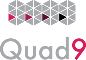 The Quad9 DNS logo.